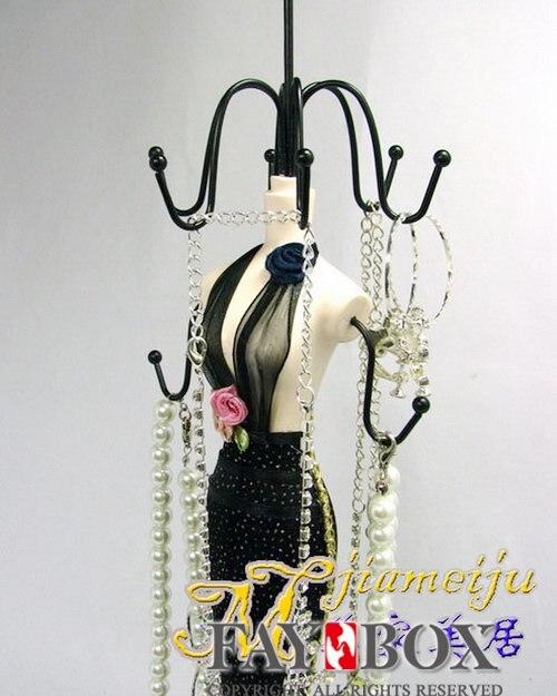 Big size 38cm15inch high Nice dressing Doll Jewelry Organizer