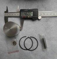 029 cylinder комплект 46 мм для Санкт бензопилой. ms290 2 insult кэп пла zylinder собрать ж/комплект поршневых колец контакт клипы сборе хром