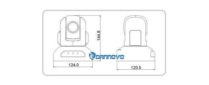 DANNOVO HD USB Câmera Web Conferencing, 10x