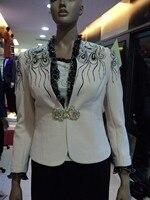 бесплатная доставка белый и рубить женская юбка костюмы и мода костюм женская suits2061 женщин свободного покроя костюмы