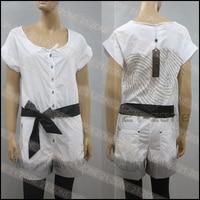 политики. копине женская combinaison аллюр брюки Franklin белый / черный размер т38 / 40 SST * t9249