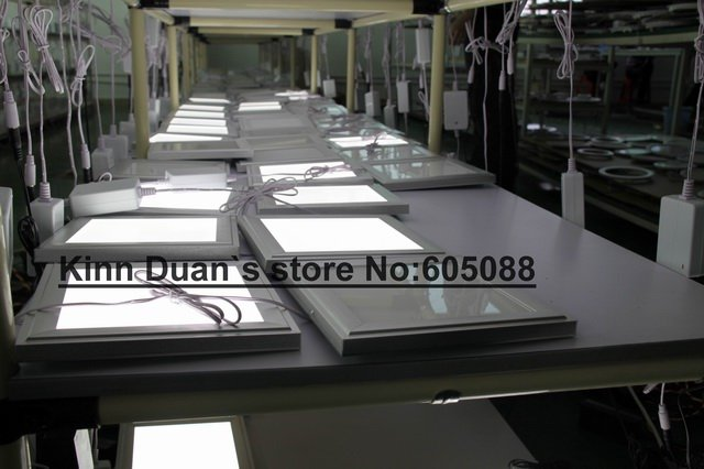 6pcs/lot ,300x300mm square dimmable full colour led panel light +RF remote control,embeded installation,DHL free shipping!