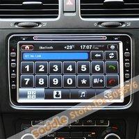 """8 """" авто Фольксваген и DVD-плеер для Фольксваген и Шкода с GPS и авто открытия указанием + помощи при парковке + + климат дисплея"""