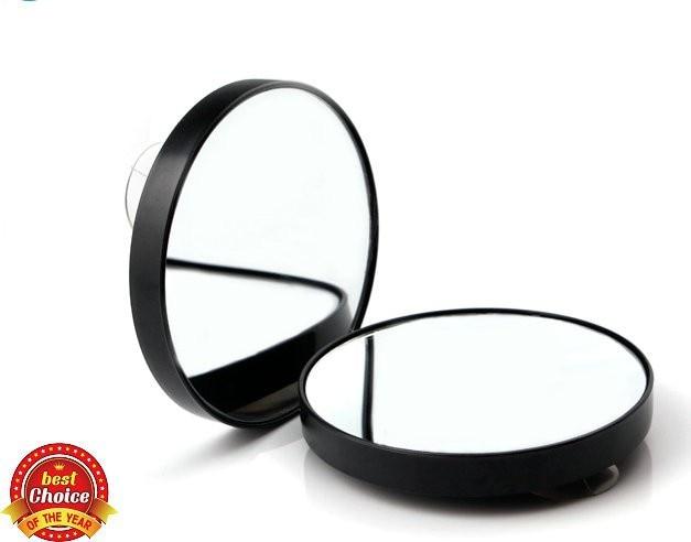 Spiegel Met Vergrootglas : Vergrotende spiegel met sucker vergrootglas spiegel