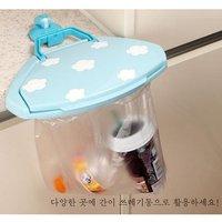 корейской версии из простых мешок для мусора стойки крюк, белый мусор