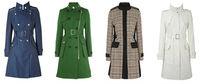 новинка дешевые зимние пальто женщин
