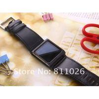 для ставку nano6 серии чикаго коллекция ремешок для часов ремешок чехол для iPod нано 6, 1 шт. + бесплатная доставка