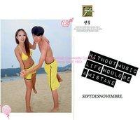 бесплатная доставка самая низкая цена Splash цветом свободного покроя брюки пляж спортивная подходят женщины / мужчины серфинг шорты домашняя одежда 1021