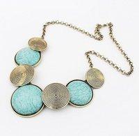 альфастрой цена 2016 новые ожидаемые мода staring ожерелье винтажный металл круг стоит chile длинные распространенности ожерелье