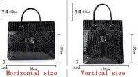 новый урожай крокодил линии Costa сумка высокое качество женская сумка одно плечо крест - тела женщины сумки
