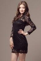 бесплатная доставка новая мода для женщин Toni партии шнурка черный и белый два цвета для выбирают платье розничная торговля оптовая торговля #12488