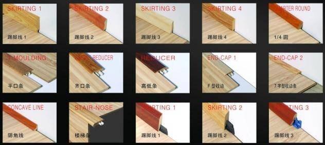 Laminate End Molding Carpet Reducer