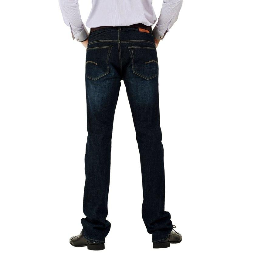 Wow! Brand Jeans Men Casual Denim 100% Cotton Mens Jeans Low Waist Fit Straight Leg Size28-36 Europen Size Spring/Fall 5