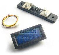 постоянного тока 0-20А синий цифровой из светодиодов амперметр панели панель бесплатная доставка АМ-0-20А eg2163