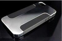 горячая 100% оригинал Porsche гибридный ПК + кремний мягкий гель двойной слой костюм чехлы для телефона для iPhone 5 С 5 г 4с зануда у чехол