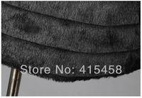 искусственный мех утолщение три четверти пальто кролика верхняя одежда для женщин черный / белый / бежевый бесплатная доставка