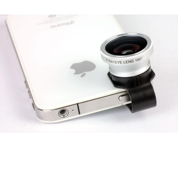 оптовая продажа универсальный клип 180 рыбий глаз линзы для iPhone 4 и 4S 5 5С HTC samsung галактики S3 S4 Примечание 2 для i9300 мобильный телефон фотоаппарат