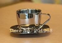 2 комп. / много - из нержавеющей стали VA стены стол площадь ning 250 мл кофе чашка комплект