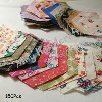небольшой размер поделки Scout ткань, Сесиль, 150 шт./лот, сочетание цветов, подарок