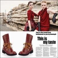 современный горячая распродажа хорошо искусственная кожа - женская мартин сапоги обувь женская свободного покроя оксфорды туфли бесплатная доставка 2 цвет
