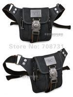 мода свободного покроя мужская кофе досуг холст bumbag поясную сумку ремень спортивный разгрузки черный бесплатная доставка