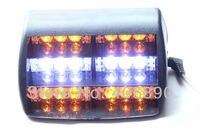 3 шт./лот 3 из светодиодов 6 х 12 в из светодиодов авто стробоскоп маяк хищника оповещения о чрезвычайных ситуациях светильник