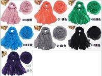 мода мягкой женская вентилятор шарф обернуть SAL 175 см * 100 см цвет Splash, бесплатная доставка