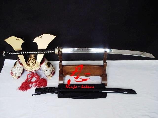 battle ready naginata katana sword dragon tsuba 9260 spring steel blade sharp