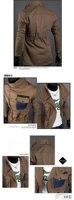 новые люди куртка Casa Carmen конструктор высокая шея тонкий почтовый подходящую куртку пальто верхняя одежда