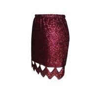 сексуальный полые - пайетки юбка