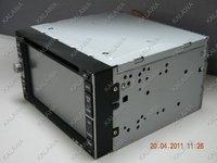"""6.2 """" автомобилей стандартный размер ДВД + ГПС навигатор + датчик экран высокой чеки + гарнитура + SD или MMC + FM / АМ + DVD плеер + 8 язык"""