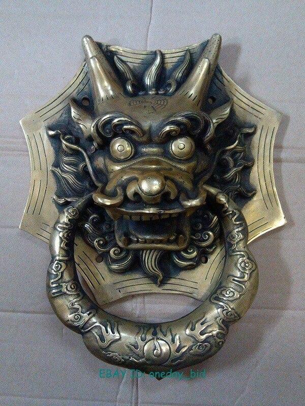 DSCN8436.jpg 19695.jpg ... & Large Chinese Bronze Dragon Head Door Knocker 10\