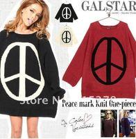 мода новая женщина акриловые свитер + женская вязаная с пуловеры + дамы осень трикотаж + бесплатная доставка в WS-007