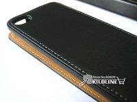 натуральная кожа чехол флип чехол для яблоко, iPhone 4 / 4S с