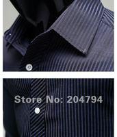 84 бесплатная доставка новых людей рубашки свободного покроя тонкий стиль мужские рубашки платья цвета синий, черный сша szie установки хѕ, s м