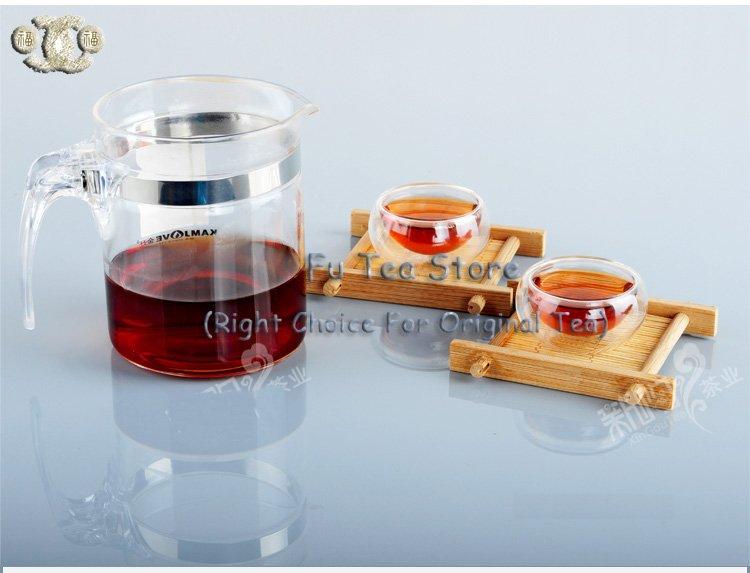 Free shipping yunnan puer tea, ripe puer, tea brick 100g