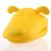 животных собака собачка дизайн гибким силиконовым горшок держатель силикон перчатки духовки бесплатная доставка
