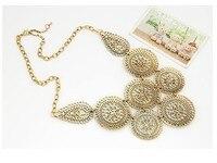 kymyad Poly круг ожерелья и подвески винтаж Негро цепочки и ожерелья для женщин костюм цепочки и ожерелья украшения для 2017, женская обувь макси ошейник