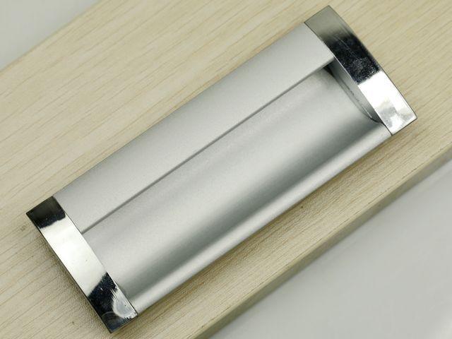 Attirant 64mm 96mm Pull Handle Aluminium/ Cabinet Handle Aluminium/ Drawer Concealed  Handle / Drawer Pull1058