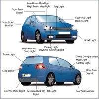 бесплатная доставка 6 вт W5W и Лампа T10 2 OSRAM и чип односторонняя из светодиодов свет автомобиля номерного знака авто автомобильных запчастей 2 шт./лот
