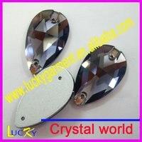 shinpping кристалл подарок падения 17 * 28 мм 36 шт tanzantite цвет очень блеск и
