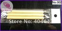 3 шт./комп. ва пути древесины маникюр ногтей инструмент Пассат живопись ручки мрамор выбор