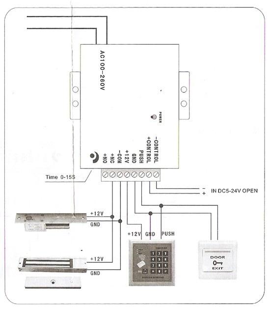 Access controller power supplier,12VDC 3A output,110-240VAC  input