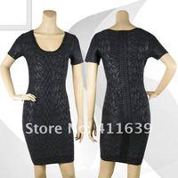 в наличии женские сексуальное облегающее бандажное платье вечернее платье нарядное платье h247 совок с коротким