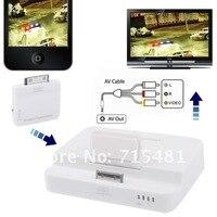 а беспроводной интерфейс HDMI . в . док передатчик и приемник для планшета iPad 3 и iPhone 4, беспроводной передачи расстояние : > 10 м