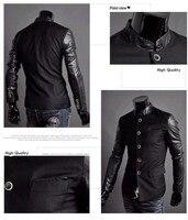 бесплатная доставка, новое поступление горячая распродажа мужской костюм, горячих людей тонкий пиджак мужская сплайсинга рукав смокинг jackets2460