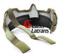 П2 удара стат ткань половина маска для лица в безопасности / костюм для маска для охоты cl9-0020