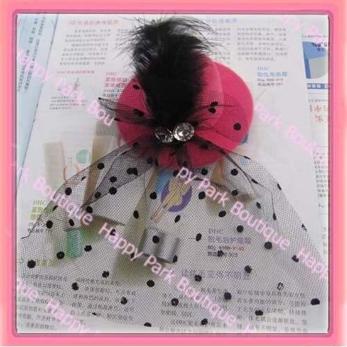 top hat grampo de cabelo acessório Do