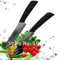 2 шт./новый бесплатная доставка лот 3 ' 6 ' черный керамический нож шеф-повара