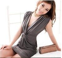 платье с в-бюстгальтер изделия мини, два уплотнения рыча маркера стиль глобальном, женщины юбки